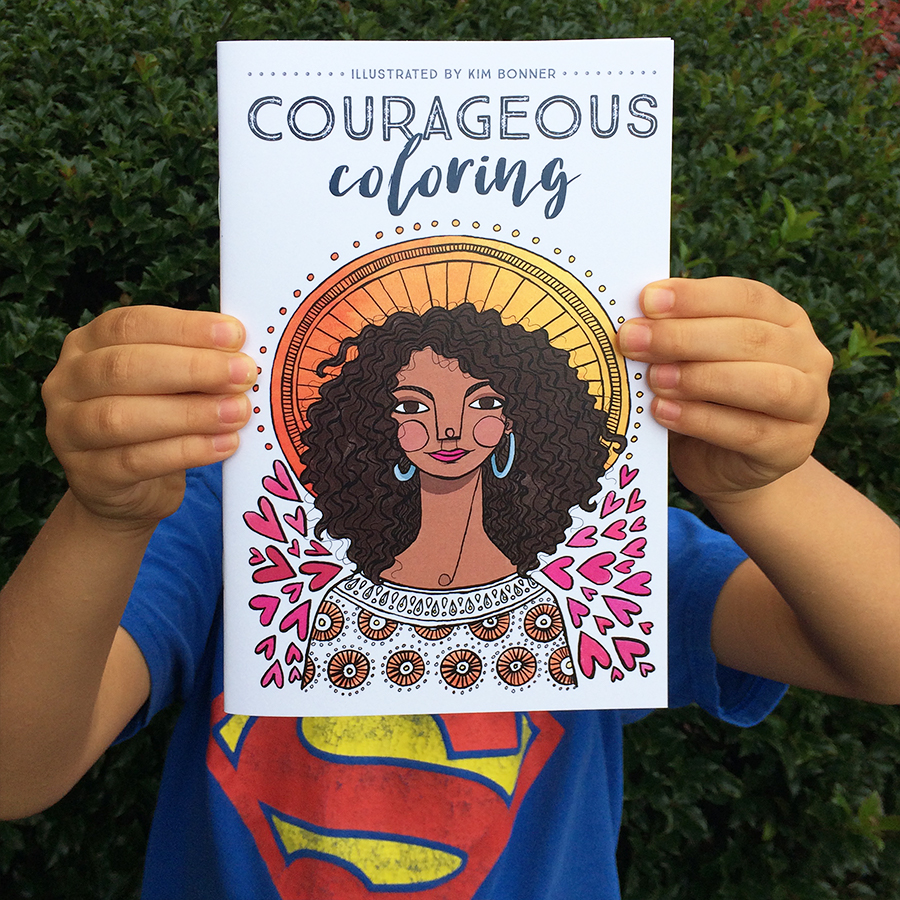 Introducing: Courageous Coloring