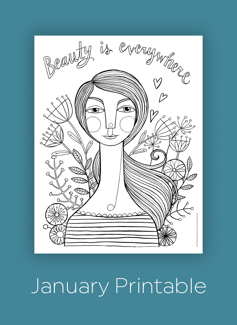 Printable coloring page downloads