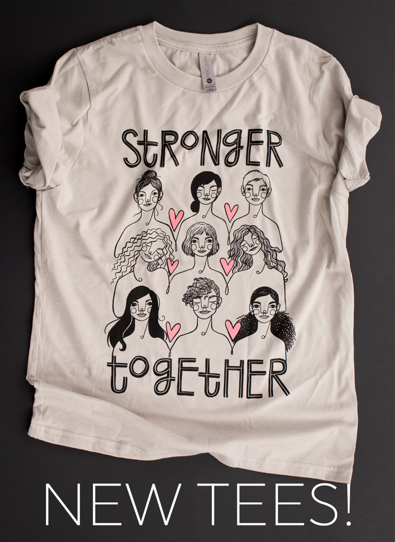 Stronger Together tee shirts