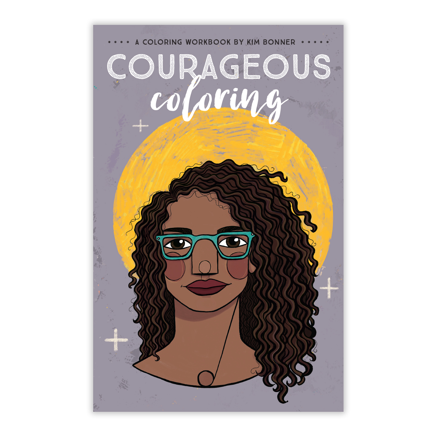The cover of the Courageous Coloring Workbook, Volume 2